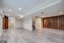 More space in the basement - 13832 TURNMORE RD, SILVER SPRING