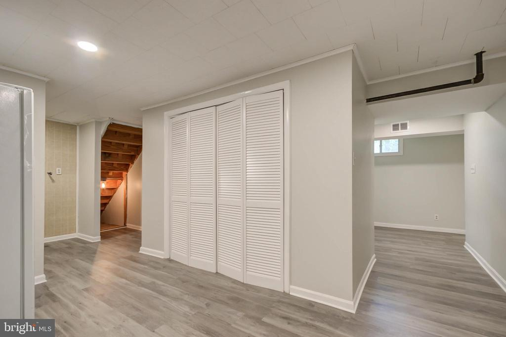 More closets in the basement - 13832 TURNMORE RD, SILVER SPRING