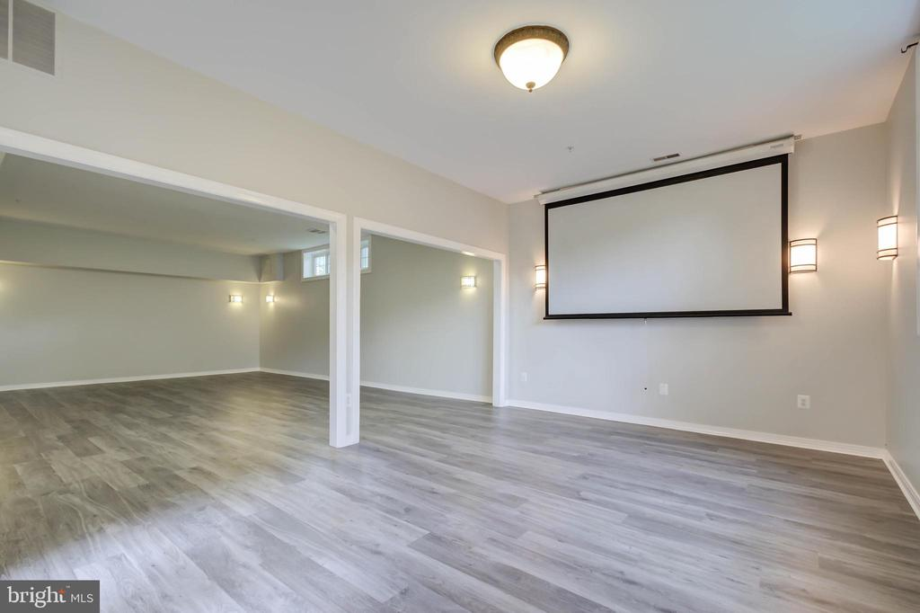 Another view of the updated basement - 13832 TURNMORE RD, SILVER SPRING