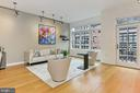 Living Room - 1700 N CLARENDON BLVD #123, ARLINGTON