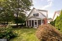 landscaping and screened porch - 1432 RAMSEUR LN, WINCHESTER