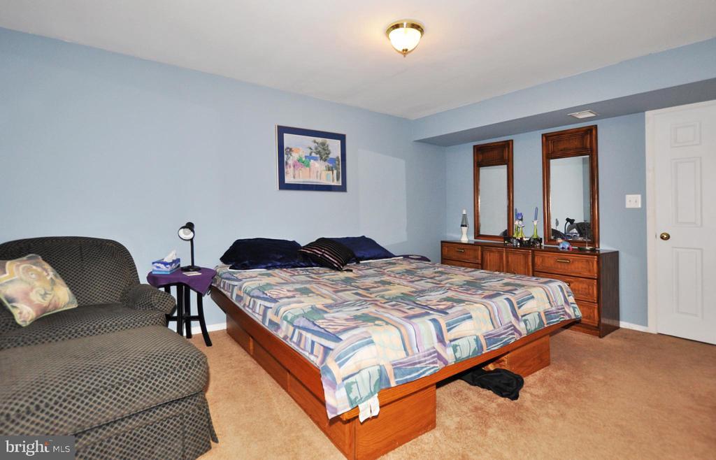 Lower level bedroom area. - 15305 LIONS DEN RD, BURTONSVILLE