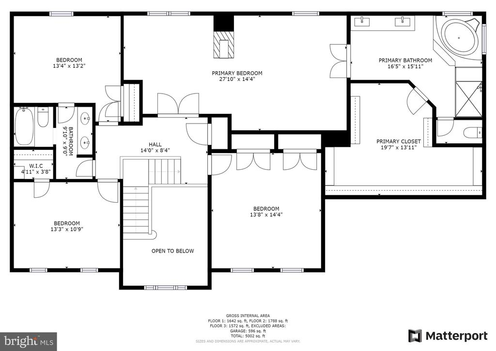 Upper Level Floor plan - 21320 COMUS CT, ASHBURN