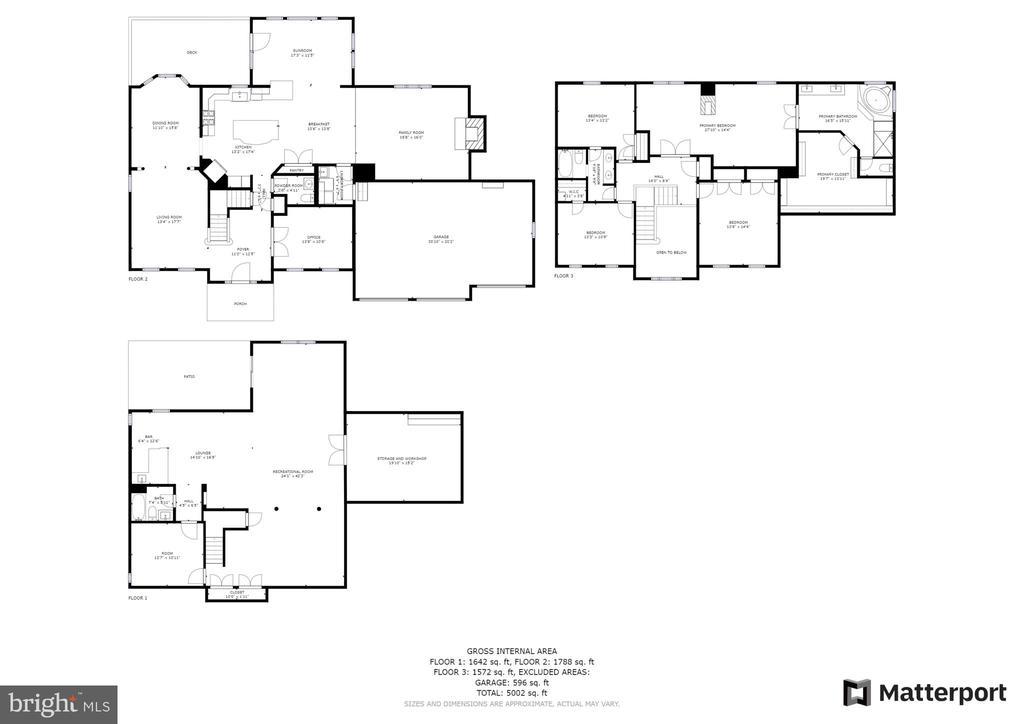 Full House Floor Plan - 21320 COMUS CT, ASHBURN