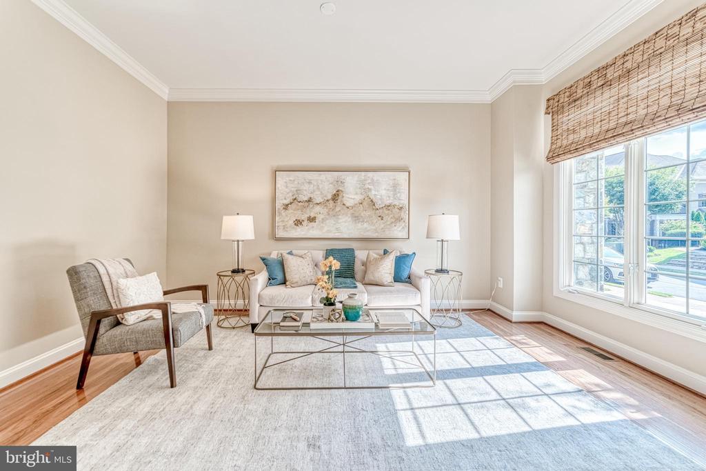 Formal living room - 18362 FAIRWAY OAKS SQ, LEESBURG