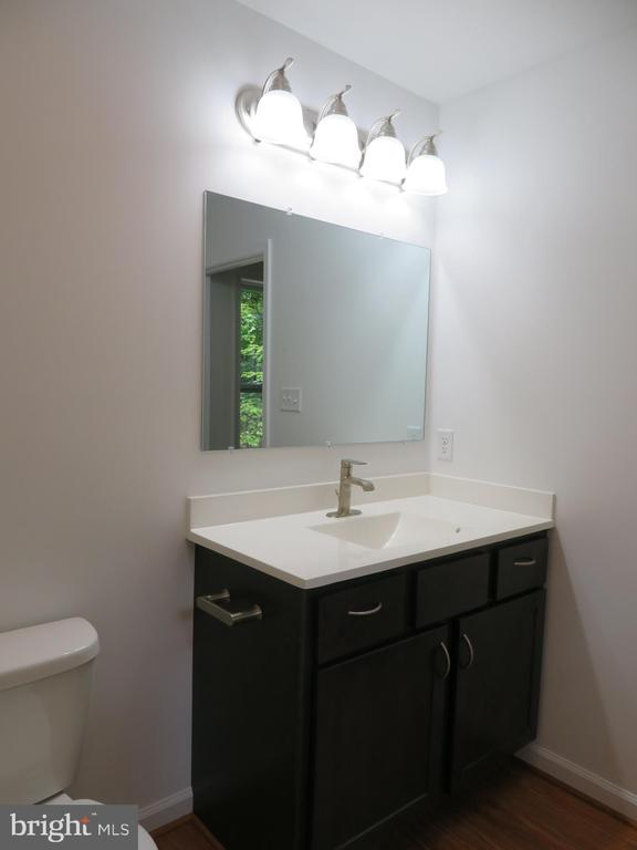 Hall Bath vanity - 121 SYLVAN LN, HARPERS FERRY