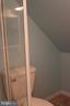 Bath upstairs w/shower - 107 PRICE DR, MANASSAS PARK