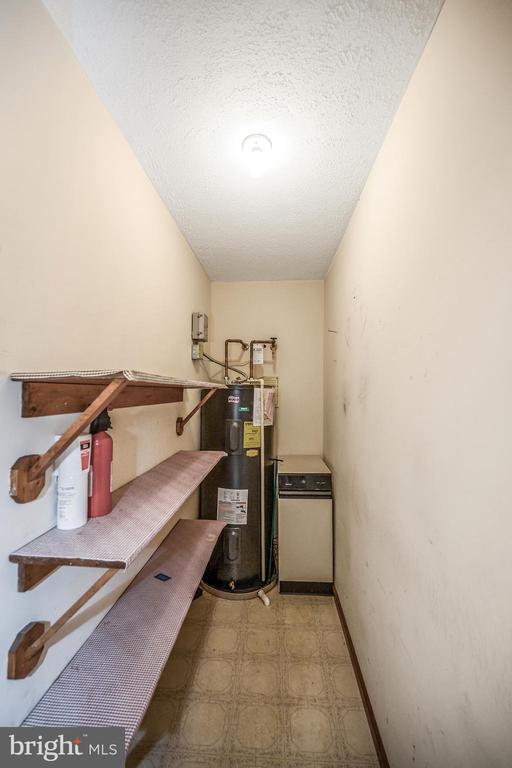 Walk in Pantry with water heater & compactor - 222 YORKTOWN BLVD, LOCUST GROVE