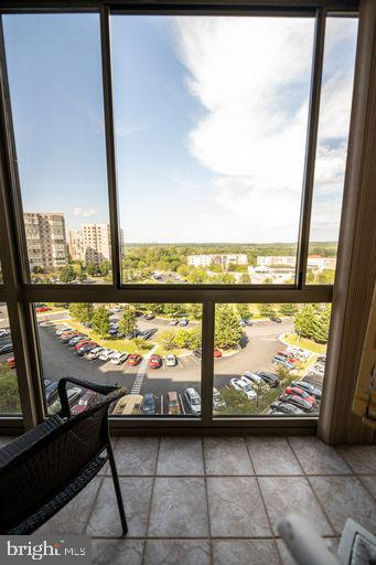 view from sun room in the afternoon - 19375 CYPRESS RIDGE TER #711, LEESBURG