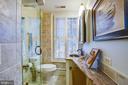 Renovated hall bathroom upstairs - 1501 CAROLINE ST, FREDERICKSBURG