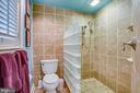 Luxurious shower in primary bathroom - 1501 CAROLINE ST, FREDERICKSBURG