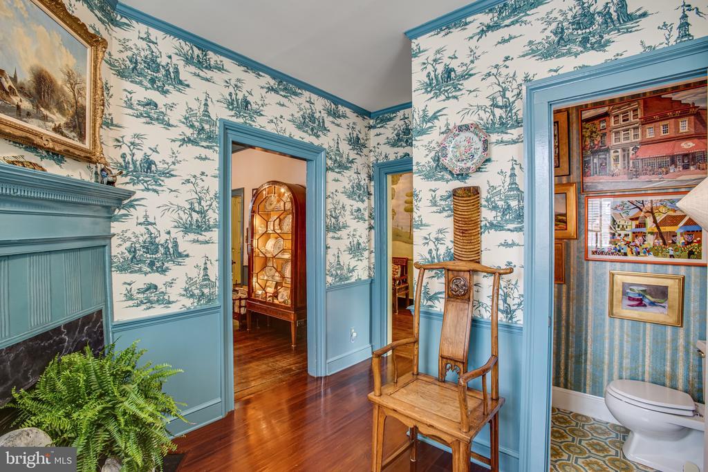 Music Room has half bath tucked away - 1501 CAROLINE ST, FREDERICKSBURG