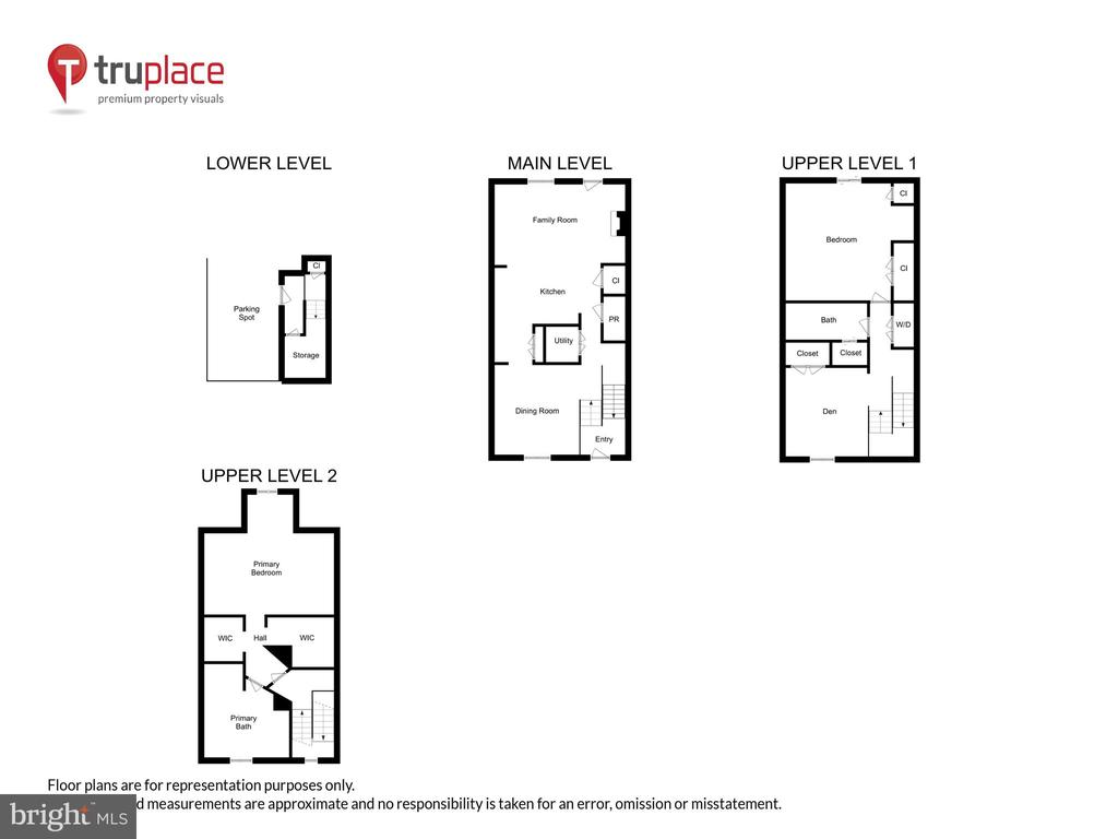 Floorplans - 1326 N CLEVELAND ST, ARLINGTON