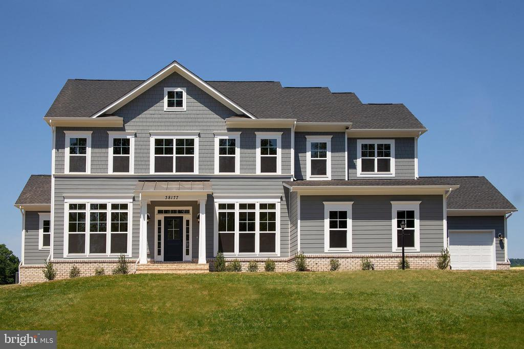 Optional elevation & features shown - PURCELLVILLE RD, PURCELLVILLE