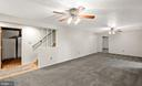 Lower level family/ rec room - 2036 FIRE TOWER LN, IJAMSVILLE