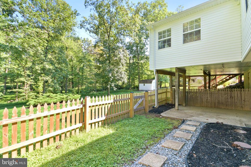 fenced area - 2036 FIRE TOWER LN, IJAMSVILLE