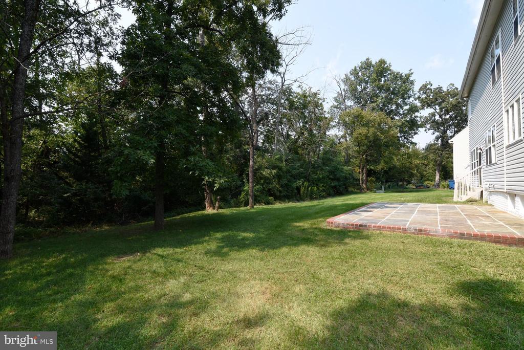 Large flat backyard - 43847 AMITY PL, ASHBURN