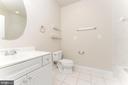 Basement bathroom - 262 W NORTH AVE, WINCHESTER