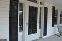 Leaded glass front entry - 11690 FREDERICK RD, ELLICOTT CITY