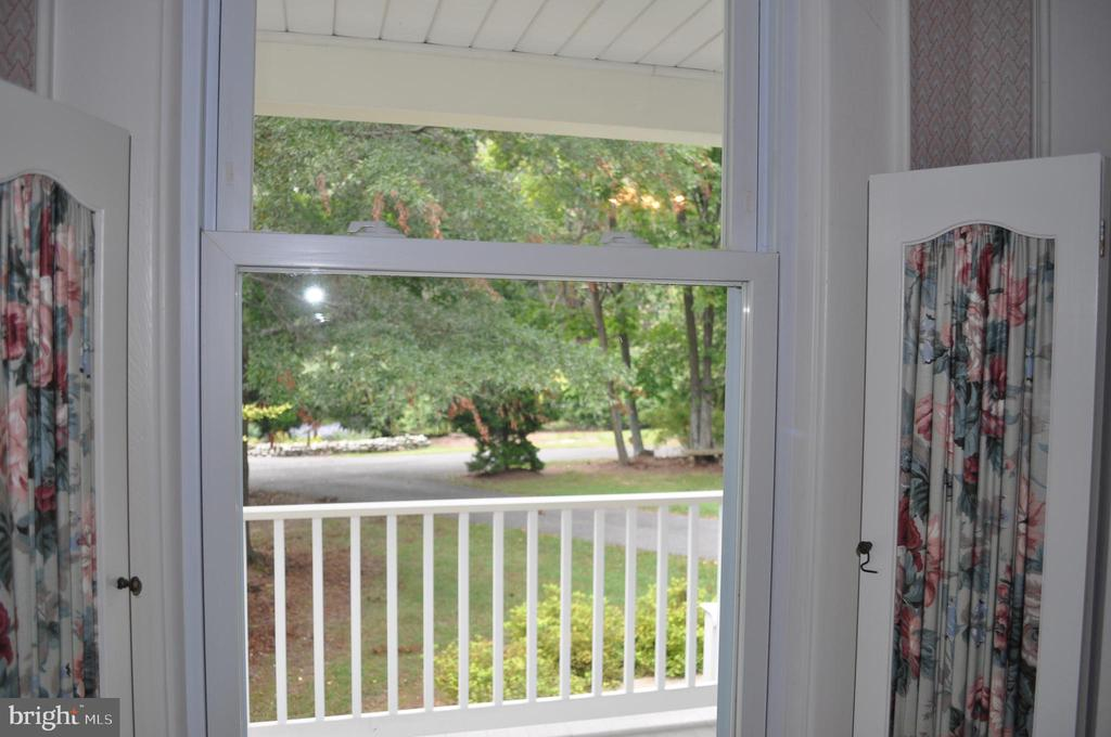 Beautiful view from bay window - 11690 FREDERICK RD, ELLICOTT CITY