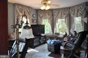 Second bedroom with bay window - 11690 FREDERICK RD, ELLICOTT CITY