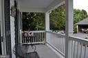 Back porch - 11690 FREDERICK RD, ELLICOTT CITY