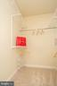 Walk-in closet primary beroom - 42531 ROCKROSE SQUARE #102, ASHBURN