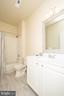 Primary bathroom - 42531 ROCKROSE SQUARE #102, ASHBURN