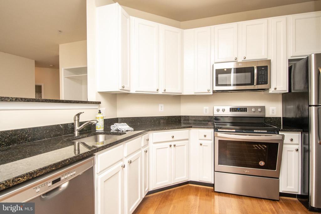 Kitchen new range - 42531 ROCKROSE SQUARE #102, ASHBURN