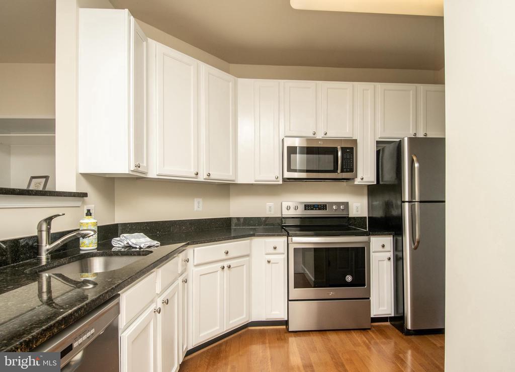 Kitchen granite countertops - 42531 ROCKROSE SQUARE #102, ASHBURN