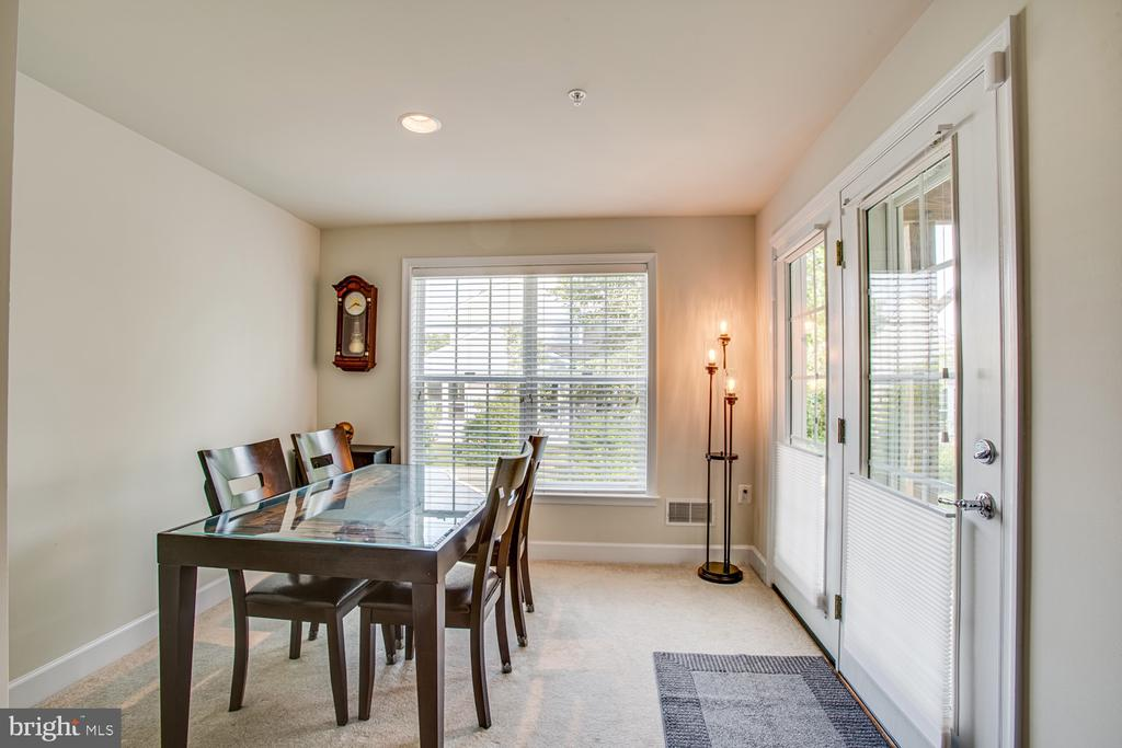 Basement area with access to the patio - 68 TABLE BLUFF DR, FREDERICKSBURG