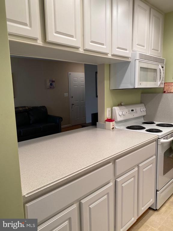 Kitchen side of  bar counter to living room - 112 WESTWICK CT #6, STERLING
