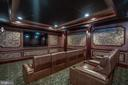 Lower Level Home Theater Does Not Disappoint - 40483 GRENATA PRESERVE PL, LEESBURG