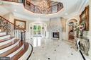 Elegant Marble Foyer - 40483 GRENATA PRESERVE PL, LEESBURG