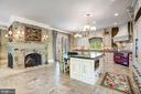 Double -Sided Fireplace for Ambiance - 40483 GRENATA PRESERVE PL, LEESBURG