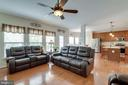 Family Room with Hardwoods - 42972 THORNBLADE CIR, BROADLANDS