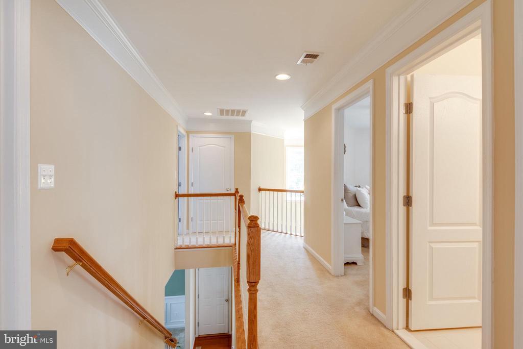 Bright Upper Level Hallway - 42972 THORNBLADE CIR, BROADLANDS