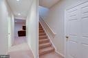 Lower Level Foyer/Hallway - 42972 THORNBLADE CIR, BROADLANDS