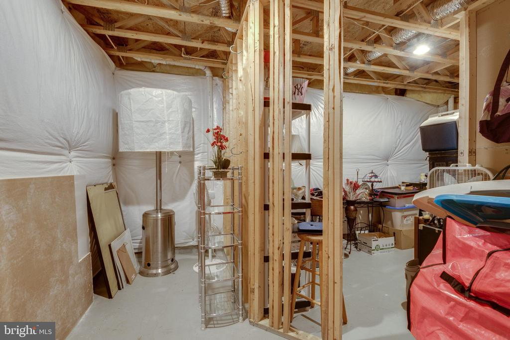 Lower Level Storage Space - 42972 THORNBLADE CIR, BROADLANDS