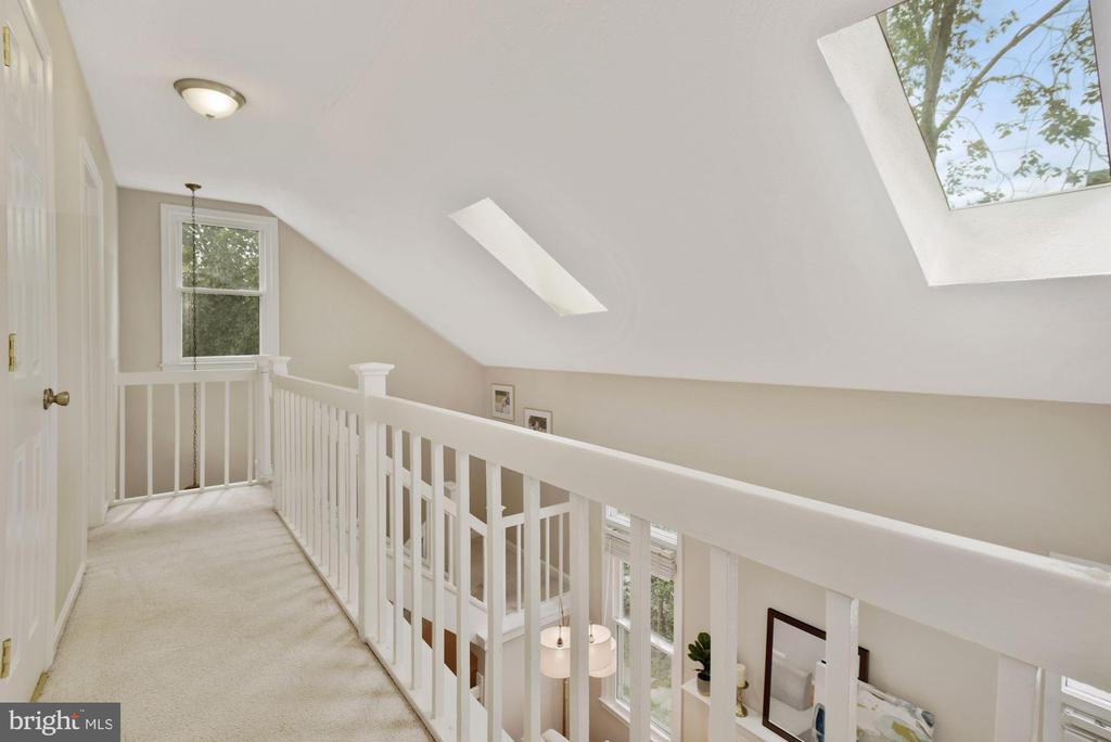 Beautiful Architectural Detail w/ the Skylights! - 8423 HOLLIS LN, VIENNA
