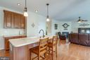 Gourmet Kitchen Island - 42972 THORNBLADE CIR, BROADLANDS