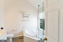 Updated Master Bath 2 - 42885 GOLF VIEW DR, CHANTILLY