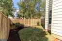 Backyard - 42885 GOLF VIEW DR, CHANTILLY