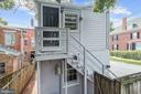 Rear Exterior - 139 W 3RD ST, FREDERICK