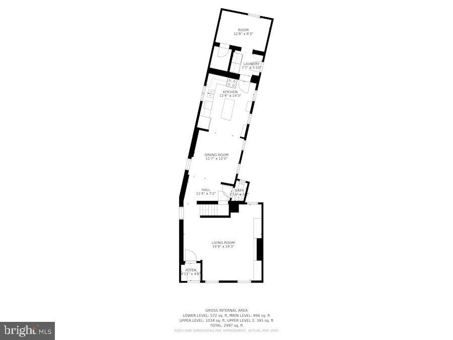 Floor Plan - 139 W 3RD ST, FREDERICK
