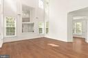 Two-Story Living Room - 1910 ARMAND CT, FALLS CHURCH