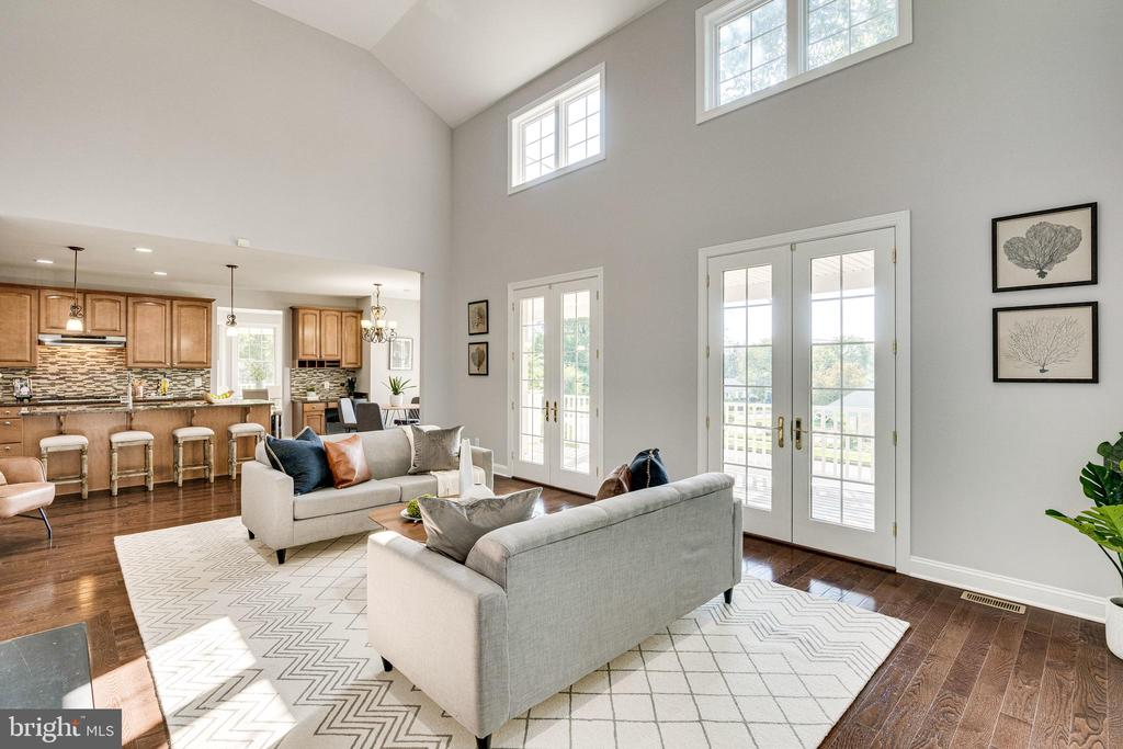View from Great Room to Kitchen - 1822 ANDERSON RD, FALLS CHURCH