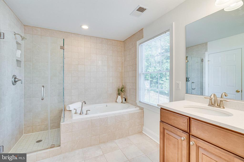 Separate Shower and Soaking Tub - 1822 ANDERSON RD, FALLS CHURCH