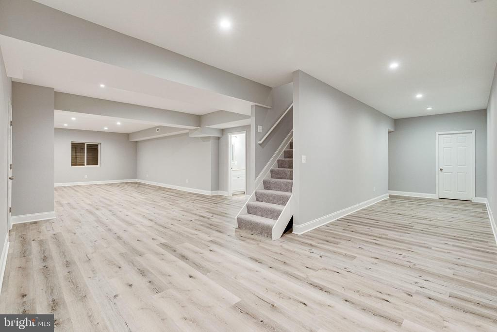 Fully finished lower level - 1822 ANDERSON RD, FALLS CHURCH