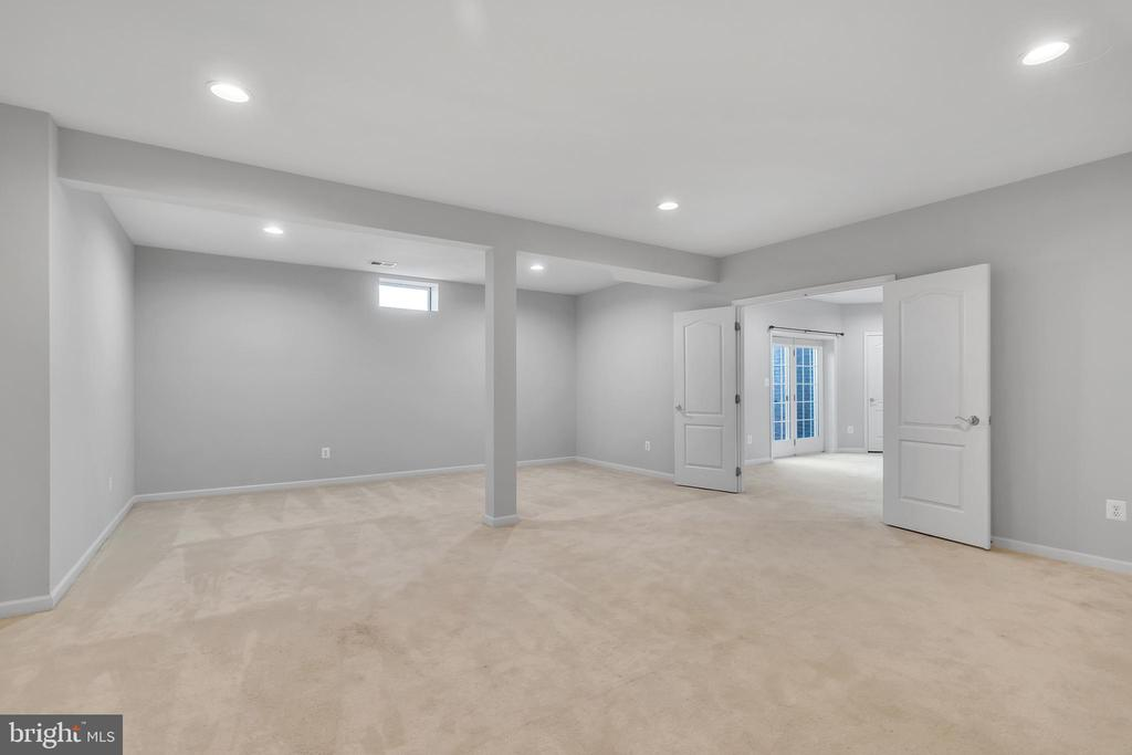 Finished Lower Level with Endless Potential - 20373 MEDALIST DR, ASHBURN